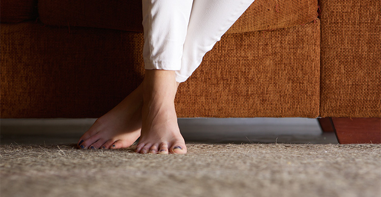 Prevent Carpet Indentations Together With Your Steps