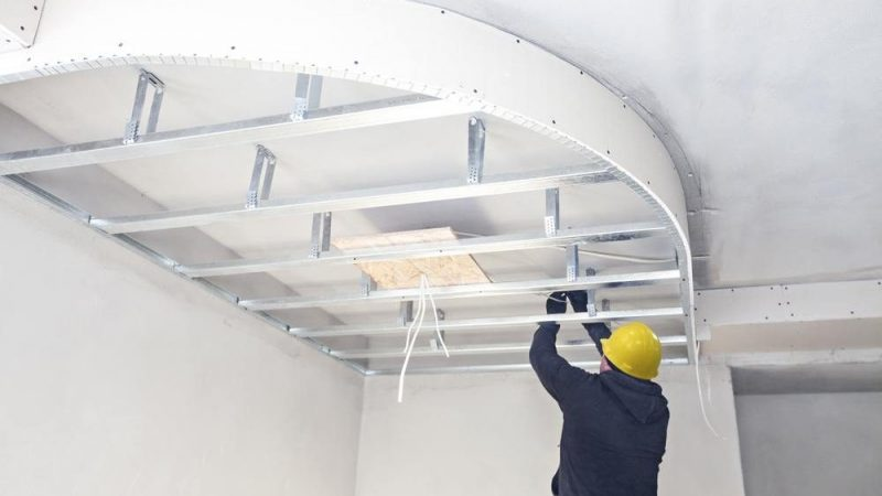 Some Advantages Of A Plasterboard Ceiling Roof